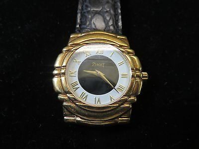 PIAGET~Tanagra~18kt. Yellow Gold~Men's Wristwatch~All Factory Swiss Made~Estate