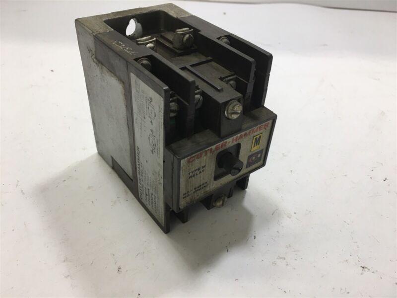 Cutler-Hammer Type M Relay D26Mb 600 Volts 10 Amp