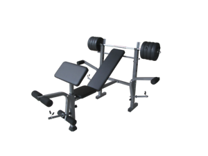 ARMORTECH ENTRY LEVEL BENCH PRESS   80LBS WEIGHT SET
