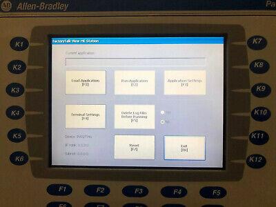 Allen-bradley Panelview Plus 700 Keypad 2711p-rdb7c Ser D