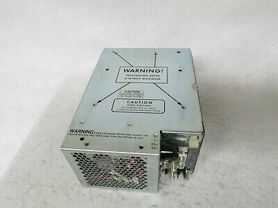 Pioneer Magnetics Pm 2500a-1 High Voltage Rectifier Power Supply
