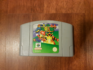 Super Mario 64. Nintendo 64. CARTRIDGE ONLY Buttaba Lake Macquarie Area Preview