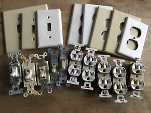 FREE - light switches, plugs'n'plates