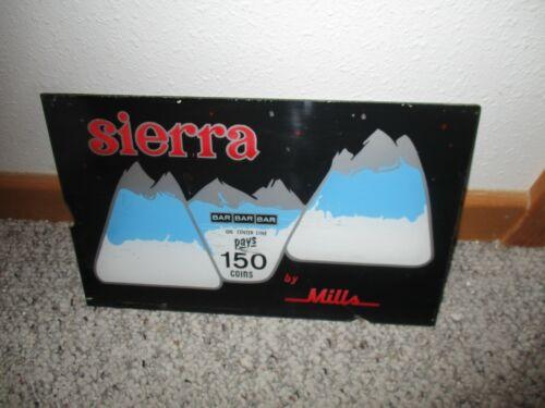 MILLS SIERRA BELLY GLASS (PLASTIC)