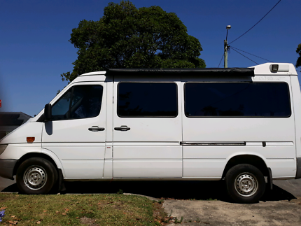 01 Mercedes Sprinter long wheel base Adamstown Heights Newcastle Area Preview