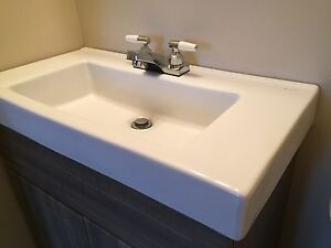 Brand new porcelain sink top only
