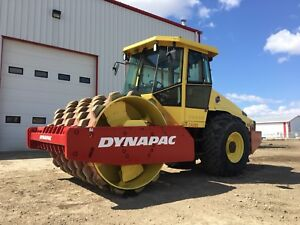 """2007 Dynapac CA362PD 84"""" Padfoot Vibratory Compactor for Rent"""