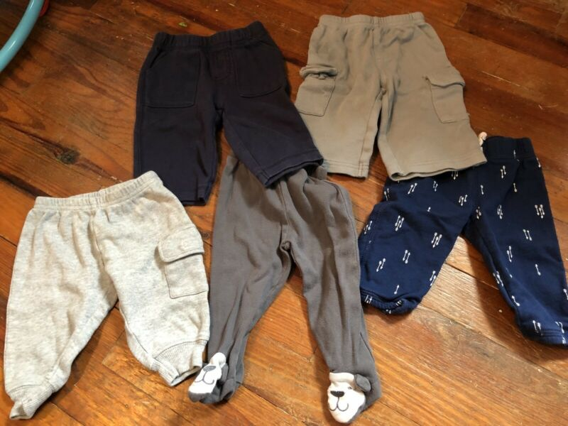 Baby Boys 3 Month Pant Lot