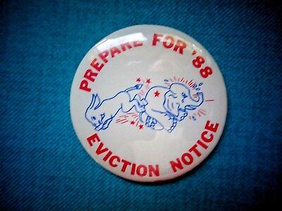 Democrat Campaign Button (1988)