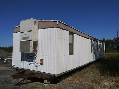 12 X 60 Mobile Office Trailer. Nice Office Trailer. You Move.