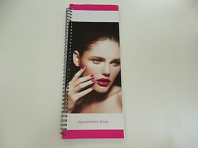 2 Column Appointment Book 100 page For Office/Nail Shop/ Hair Salon/Beauty Shop