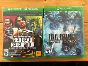 Final Fantasy XV Royal Edition & Red Dead Redemption Xbox one