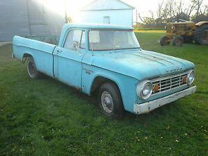 Antique Dodge, Fargo, GMC Trucks