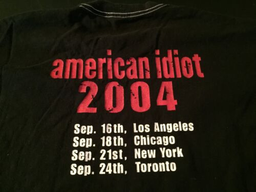Green Day Club Tour Shirt 2004, XL