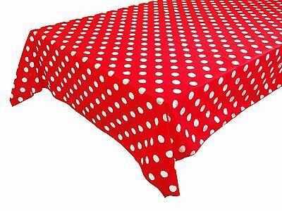 Zen Creative Designs® Premium Cotton Table Cloth Polka Dots ()