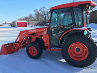 Kubota MX6000 Cab Tractor and Loader Brandon Brandon Area Preview