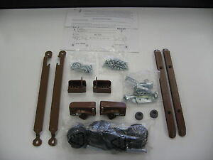 Baby Crib Complete Hardware Kit Brown Ebay