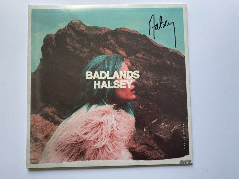 PSA DNA Halsey Signed Vinyl Badlands Hopeless Fountain Kingdom