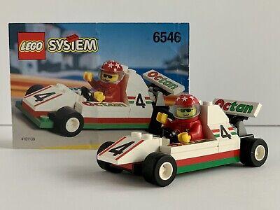 LEGO 6546 Town Slick Racer 100% Complete - No Box *Rare 1996* Octan Racing