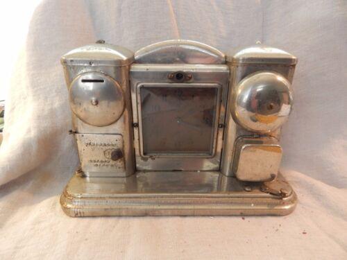 Vintage / Antique Darche Safety Deposit Flashlight Alarm Clock Coin-op HTF