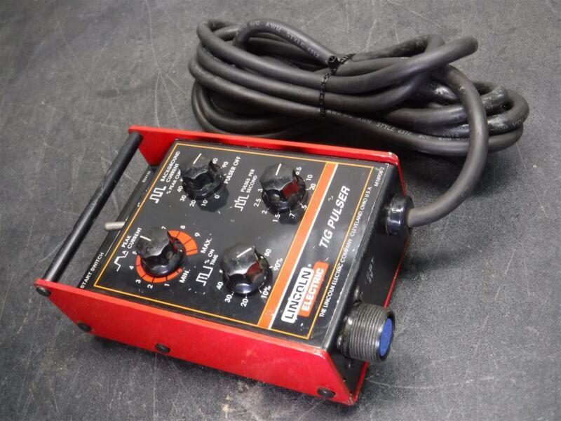 Used Lincoln Electric Tig Pulser GTAW Pulse Control I10
