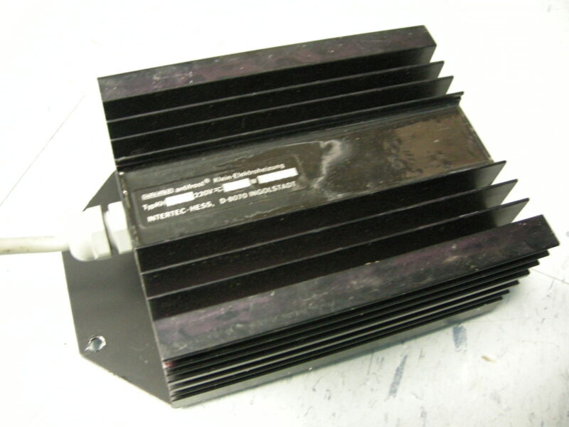 INTERTEC ANTIFROST D-8070 INGOLSTADT EXPLOSION PROOF HEATER / HEATING BLOCK