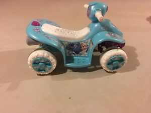 KidTrax Disney Frozen 6 Volt Powered Quad HARDLY USED