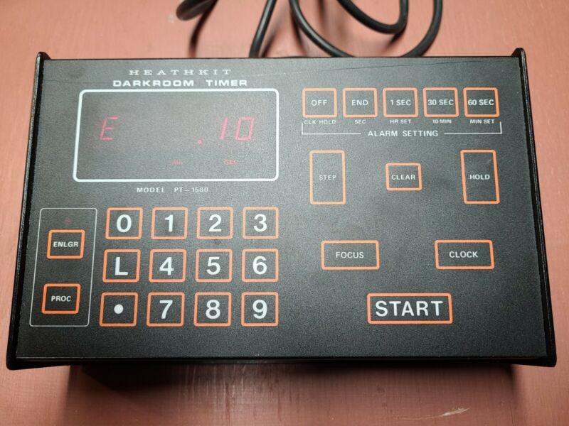 HEATHKIT PT-1500 DARKROOM TIMER Tested Free Shipping 📦