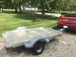 2013 Triton Aluminum 4 1/2' x 8' Light Weight Utility Trailer
