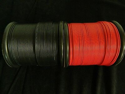 18 GAUGE WIRE RED & BLACK 100 FT EACH PRIMARY AWG STRANDED COPPER POWER REMOTE