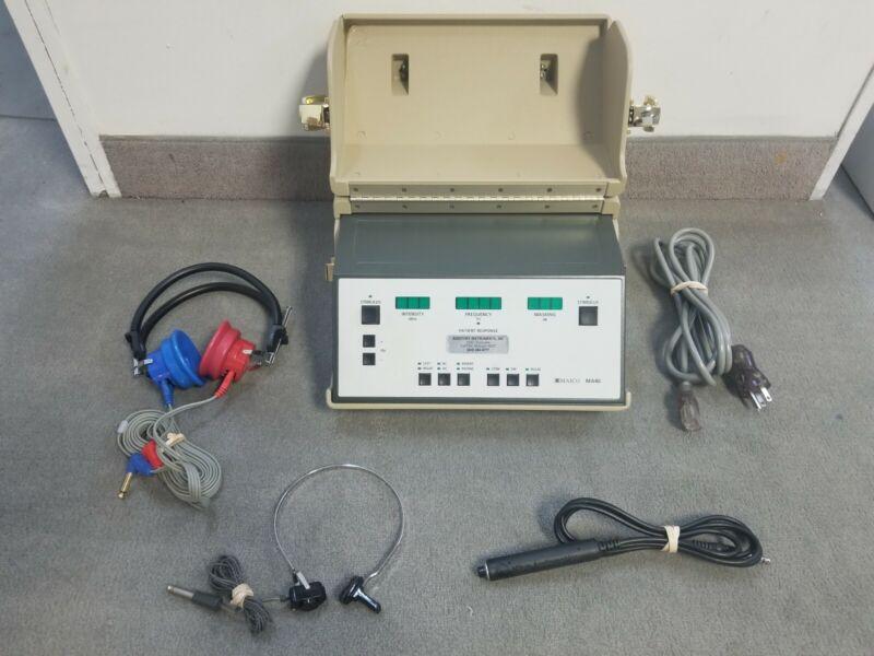 MA 40 Series ll (Air/Bone/Masking) Portable Screening Audiometer 1 YEAR WARRANTY