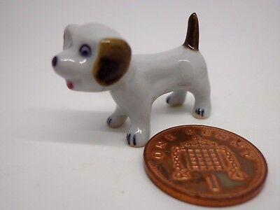 1:12 Scale Small  Ceramic Puppy Dog Dolls House Ornament