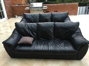 Demir genuine leather sofas Killara Ku-ring-gai Area Preview