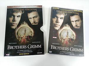 BROTHERS-GRIMM-DVD-STEELBOX-ENGLISH-DEUTSCH-GERMAN-EDITION-MATT-DAMON