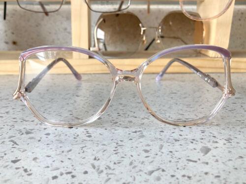 Vintage 70s or 80s Womens Drop-Arm Eye Glass Frames W/Original Demo Lenses