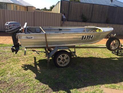 For Sale 3.7 m Stacer Aluminium dinghy