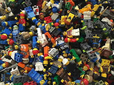 LEGO - Random City Town Minifigure Lot Complete minifigs $1 each