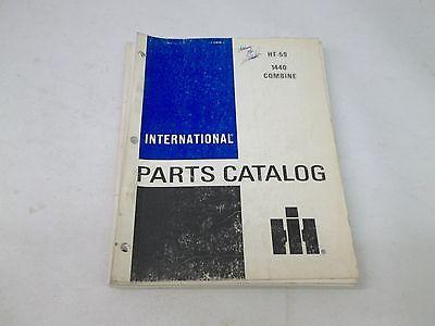 International Harvester Model 1440 Combine Parts Catalog