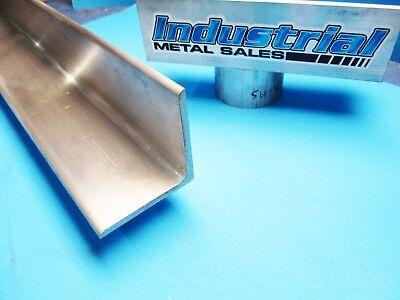 6061 T6 4 X 4 X 12-long Aluminum Angle X 14 Thick--4 X 4 X .250 Angle