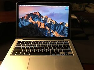 2014 MacBook Pro 13 inch Retina, 16G Ram, 256G SSD, like new