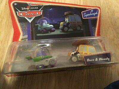 Disney Cars Mattel Movie Moments Buzz & Woody Toys Story NEU