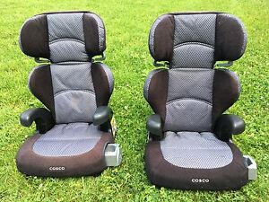 Two Cosco  booster car seats with comfy back for sale