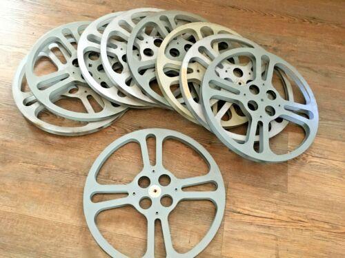 1 VINTAGE 16MM 1600 FT 13 3/4 X 3/4 INCH Metal MOVIE FILM REEL