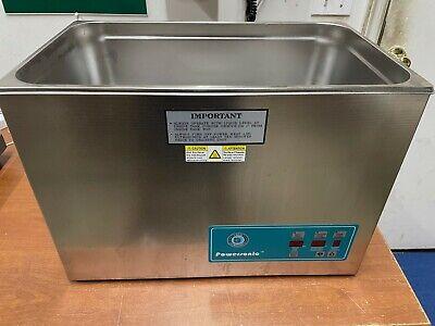 Crest Powersonic Ultrasonic Cleaner 5.25 G Digital Heat Pc P1800htpc-45 115v
