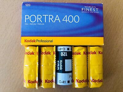 Kodak Portra 400 120 Roll Film Professional 4 Pack