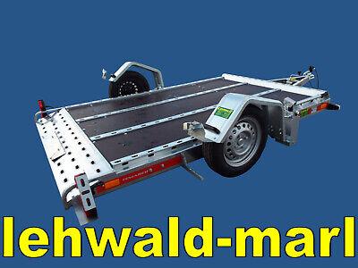 750kg absenkbarer Motorradtransporter, Motorradanhänger, Neu n. gebraucht