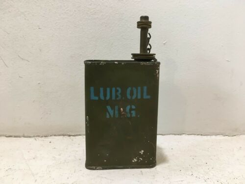 WW2 ERA US ARMY MILITARY Browning OIL LUBE CAN OILER  Unused. NOS.