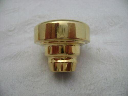 Gold DiOrio Trumpet Top .680 ID 27 Throat Medium Shallow Cup