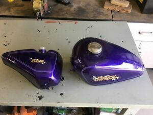 Harley Sportster Gas and Oil Tanks