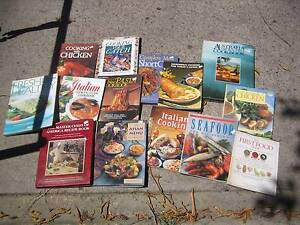 BOX OF COOK BOOKS (14 IN TOTAL) FOR $12 THE LOT (BARGAIN) Buderim Maroochydore Area Preview